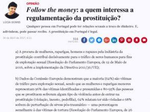 Follow the money: a quem interessa a regulamentação da prostituição?