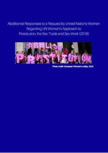 Abolitionist contributions UN Women consultation